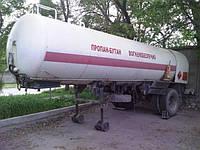 Автомобильная цистерна  для перевозки сжиженного газа полуприцеп 10,5 куб. м.