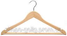 Деревянная вешалка, 44 х 1,3 см, деревянные плечики