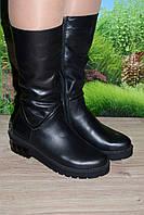 Сапоги кожаные на байке М30рез качество Сrisma размеры 37
