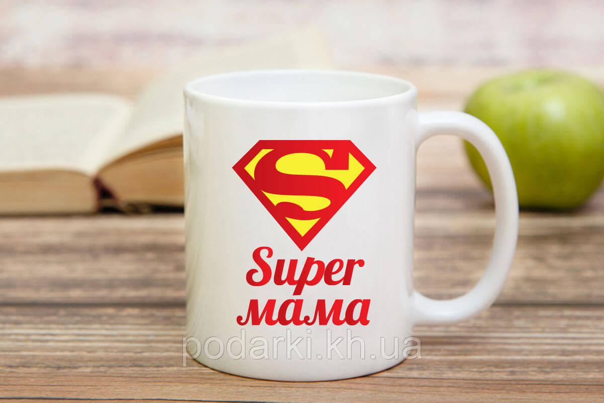 Чашка SUPER мамы