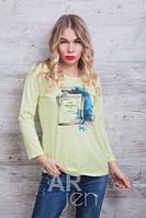 Кофточка реглан  модная женская  44-46р, доставка по Украине