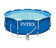 Каркасный бассейн Intex 28202  (305х76 см.)  СУПЕРКОМПЛЕКТАЦИЯ