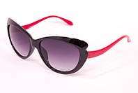 Солнцезащитные очки  с красной дужкой