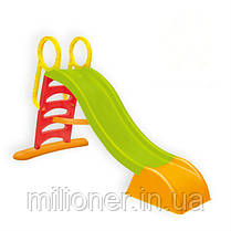 Детская горка пластиковая 180 см Mochtoys (красная), фото 3