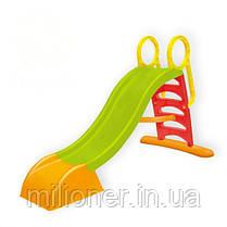 Детская горка пластиковая 180 см Mochtoys (красная), фото 2
