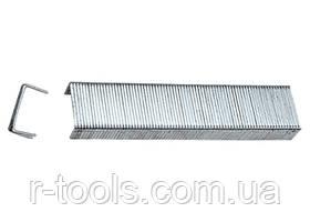 Скобы 8 мм  для мебельного степлера закаленные ТИП 53 1000 шт MTX MASTER 412089