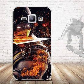 Чехол для Samsung Galaxy J1 J00 с картинкой Мортал Комбат
