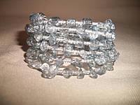 """Браслет ручной работы с натуральным камнем """"Кристалл"""""""