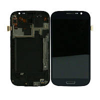 Дисплей (Lcd) Samsung i9082 Galaxy Grand Duos black + touchscreen with frame original