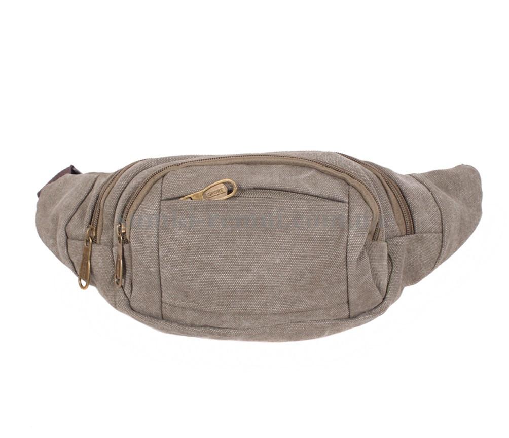 Мужская текстильная сумка GREY-D05-2 серая