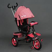 Велосипед трехколесный с поворотным сиденьем Best Trike 6595 (красный)