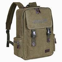Брезентовый мужской рюкзак для города
