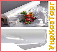 Пленка белая 110 мкм (3м*100 мп) прозрачная, полиэтиленовая, фото 1