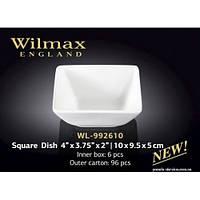 Блюдо для подачи закусок и соусов 10*9,5*5 см Wilmax WL-992610