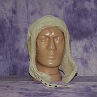Шкіряний авіаційний шолом пісочний