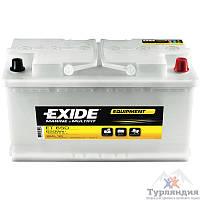 Тяговый свинцово-кислотный аккумулятор Exide ET 650