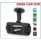 Видеорегистратор на две камеры CarCam III X8000 GPS