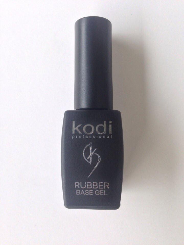 Rubber Base Kodi (Каучуковое базовое покрытие для гель лака - основа) 8 мл