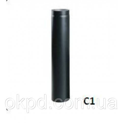 Труба Ф130 2мм из ченой стали L-1000 мм