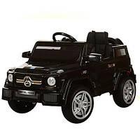 Детский электромобиль M 2788 EBLRS-2 автопокраска, мягкие колеса и кожаное сиденье
