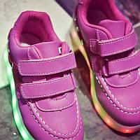 Детские светящиеся кроссовки LEDKED Kids Casual Pink
