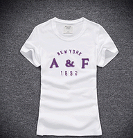 Abercrombie & Fitch original Женская футболка 100% хлопок