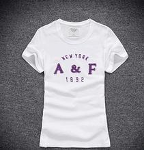 Женская футболка 100% хлопок A&F