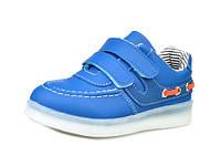 Детские светящиеся кроссовки LEDKED Kids Casual Blue