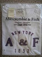 Женская футболка жіноча 100% хлопок A&F