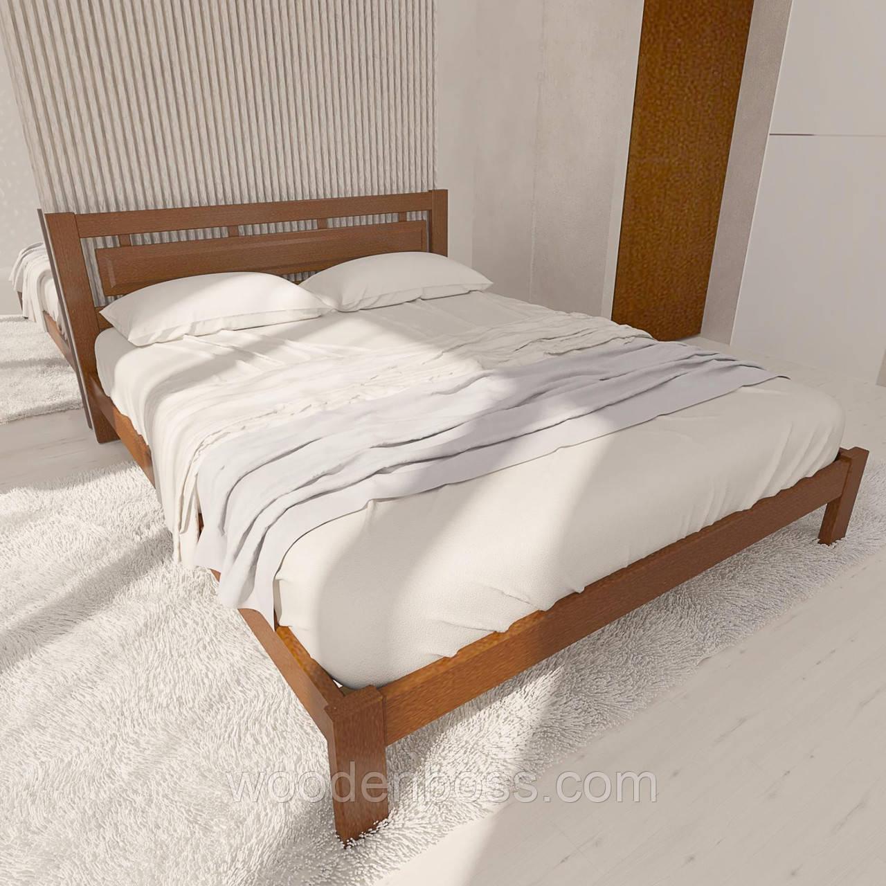 """Кровать полуторная от """"Wooden Boss"""" Грация (спальное место - 140х190/200)"""
