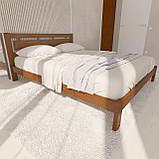 """Кровать полуторная от """"Wooden Boss"""" Грация (спальное место - 140х190/200), фото 2"""