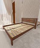 """Кровать полуторная от """"Wooden Boss"""" Грация (спальное место - 140х190/200), фото 3"""