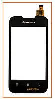 Сенсор (тачскрин) Lenovo A66 Black Original