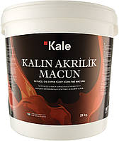 Шпаклевка акриловая  фасадная (готовая)25кг Kalin akrilik magun, Турция