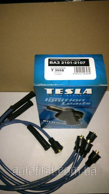 Высоковольтные провода Tesla T355S для ВАЗ 2101-2107