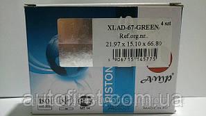 AMP 21.978*67 Пальцы поршневые зеленые ВАЗ 2101-2107 (Польша)