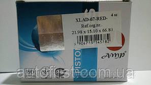 AMP 21.982*67 Пальцы поршневые красные ВАЗ 2101-2107 (Польша)