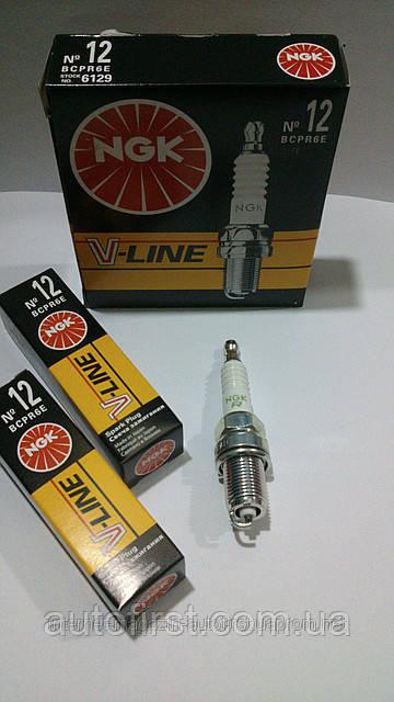 NGK 6129 Свеча зажигания  V-12 (BCPR6E) комплект