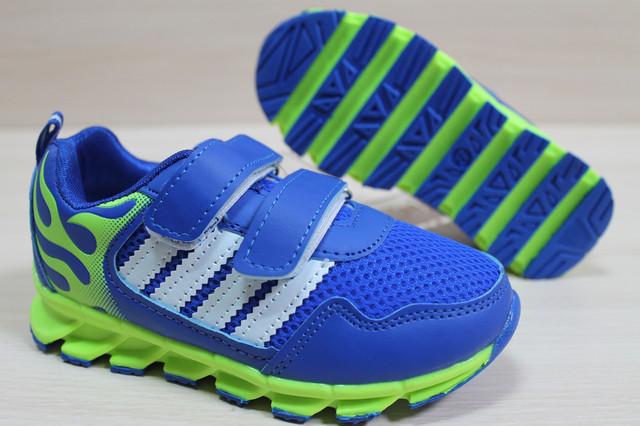 Фирменные Детские кроссовки синий цвет style-baby.com