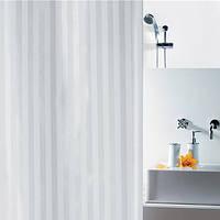 Шторка для ванной текстильная Spirella MAGI 180х200 белая
