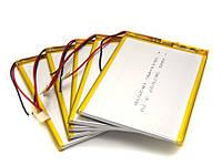 Аккумулятор 3000мАч 357095 мм 3,7в для планшета Q88, A13, Bravis, Nomi 3000mAh 3.7v 3.5*70*95