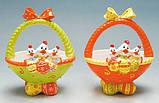 Корзинка керамика пасхальная для  яиц Bonadi 23-E200, фото 5