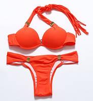 Купальник оранжевый, размер L