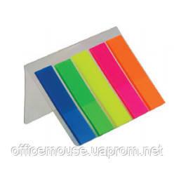 Закладки 2302,неоновий пластик