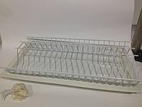 Сушка д/посуду ДС емаль бiла 900мм , фото 1