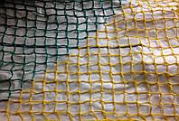 Оградительная защитная сетка (4,5мм шнур) цветная зеленый, 125х125