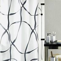 Шторка для ванной текстильная Spirella RIBBON 180х200