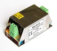 Блок питания 15W - 1.25А 12V негерметичный