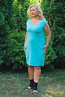 Летнее платье из льняной ткани