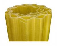 Прозрачный шифер в рулоне Волнопласт желтый